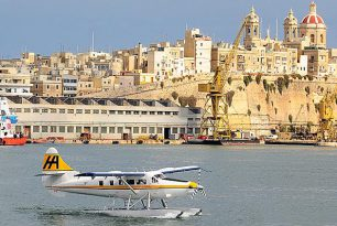 Scheduled flights on Malta