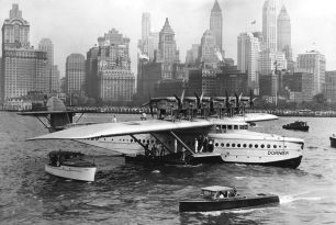 80 years ago Dornier Do-X landed in New York