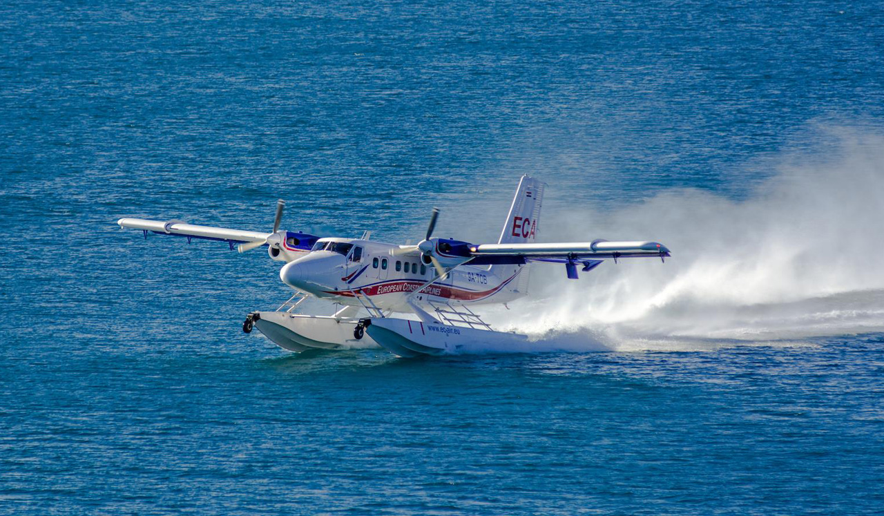 Guestvideo Europe S Only Scheduled Seaplane Service