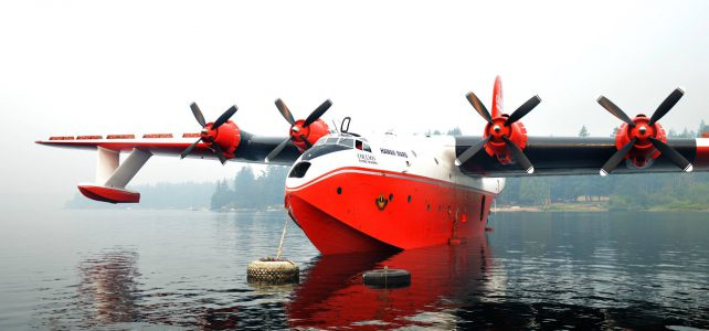 Martin Mars giant seaplanes back on the water
