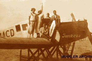 Video: Junkers F-13 seaplane on Lake Balaton
