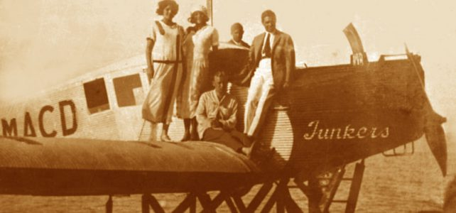 Video: Junkers F-13 seaplane on Lake Balaton