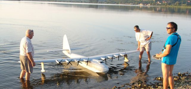 RC Spruce Goose from Slovakia