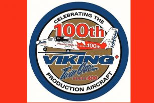 100th Viking Twin Otter series 400 aircraft became seaplane