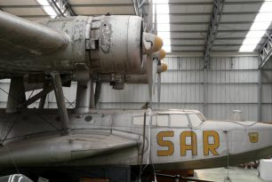 Dornier 24 seaplane at Madrid, Han de Ridder's photos