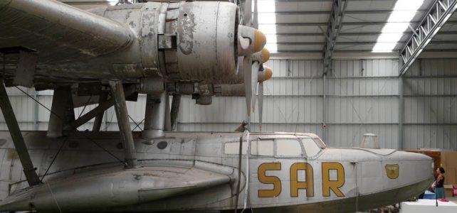 Dornier 24 seaplane at Madrid, Han de Ridder's photos