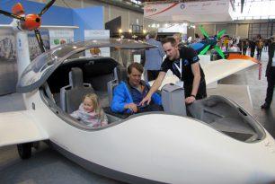 Five seaplanes in Aero Friedrichshafen 2017