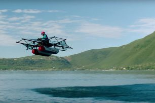 Kitty Hawk Flyer the new electric seaplane?