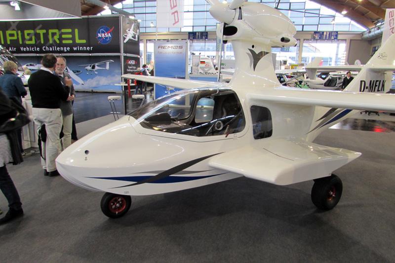 Five seaplanes