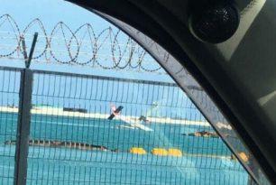 Maldivian Twin Otter seaplane crashed into airport's lagoon