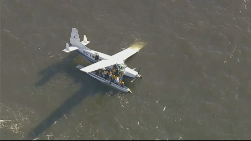 Lucky seaplane accident