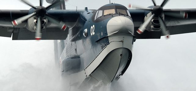 ShinMaywa US-2 giant seaplane video