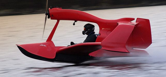 FlyNano electric powered flying jet ski without pilot licence
