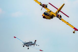 Fewer seaplanes at the EAA Oshkosh pilot meeting