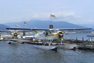 Canadian holy trinity: Twin Otter, Otter and Beaver seaplanes