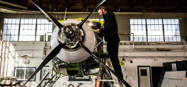 eBeaver the world's first fully-electric commercial seaplane take off ready